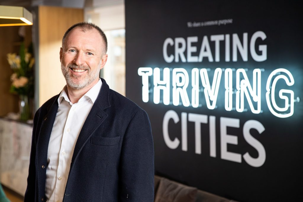 Chris Oglesby - Bruntwood - Promoting Exercise and Wellbeing to hundreds