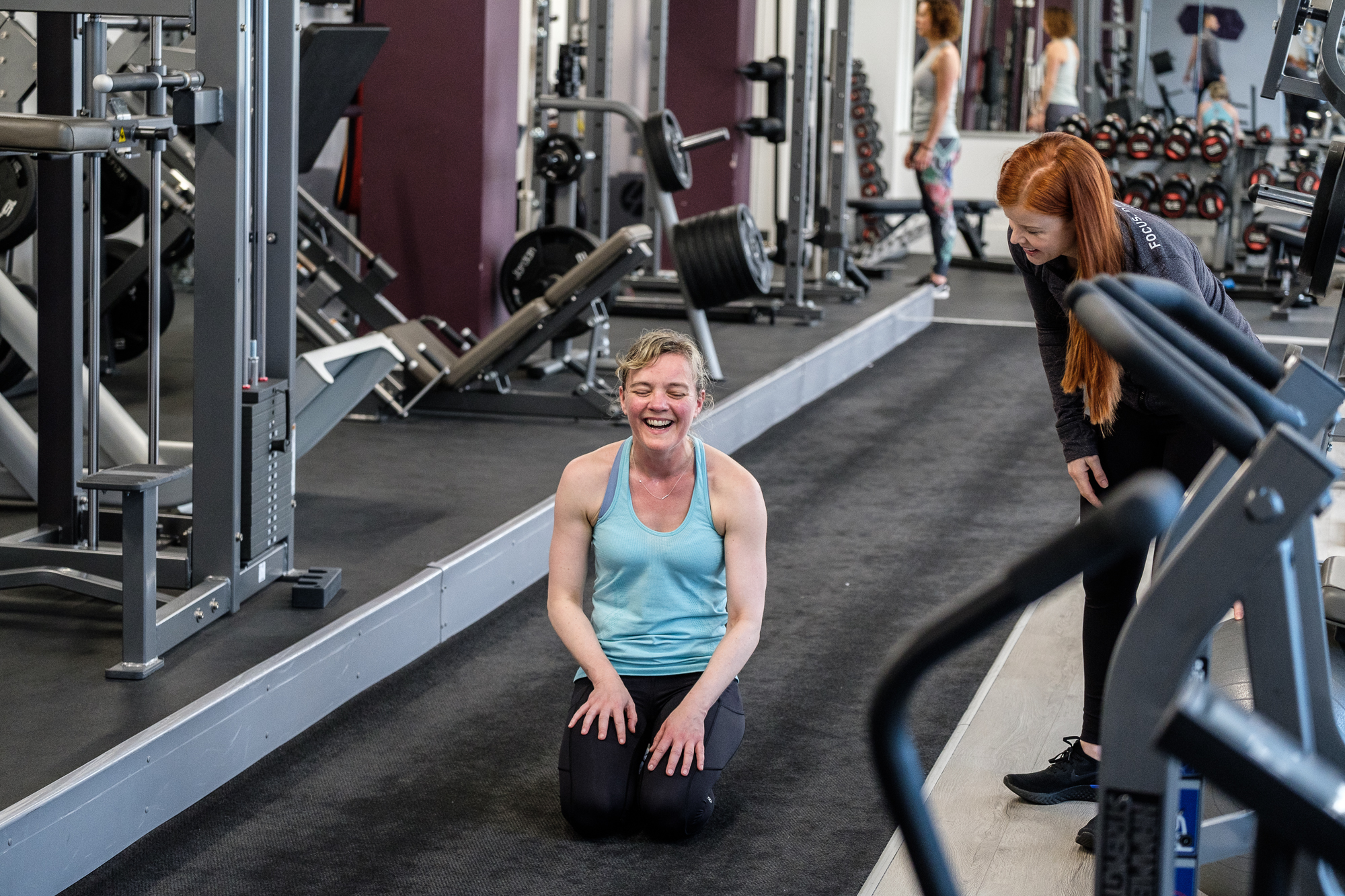 personal training manchester - session with Libby Smith